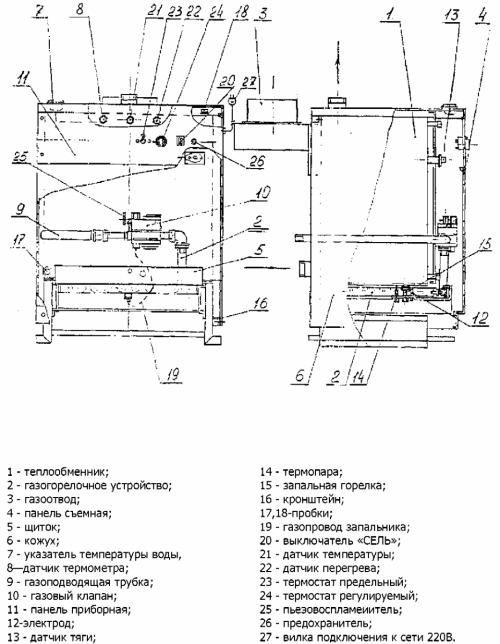 Теплообменник хопер-100 a размеры чертеж кожухотрубного двухходового теплообменника