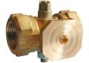 Кран трёхходовой натяжной муфтовый с фланцем для манометра 11Б18бк (11Б38бк) (Ру-16)