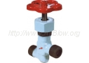 Вентиль запорный проходной цапковый из стали 12Х18Н9Т 15нж11бк (Ру-25)