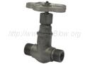 Вентиль стальной проходной сальниковый цапковый 15с10п (Ру-25)