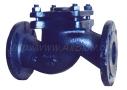 Клапан обратный из ковкого чугуна подъёмный фланцевый 16ч6п (Ру-16)