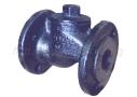 Клапан обратный чугунный подъёмный фланцевый 16кч3р(п) (Ру-16)
