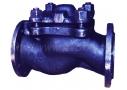 Клапан обратный из ковкого чугуна подъёмный фланцевый 16кч9п (Ру-25)