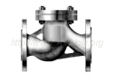 Клапан обратный подъёмный фланцевый из стали 12Х18Н9ТЛ 16нж10нж (Ру-16)